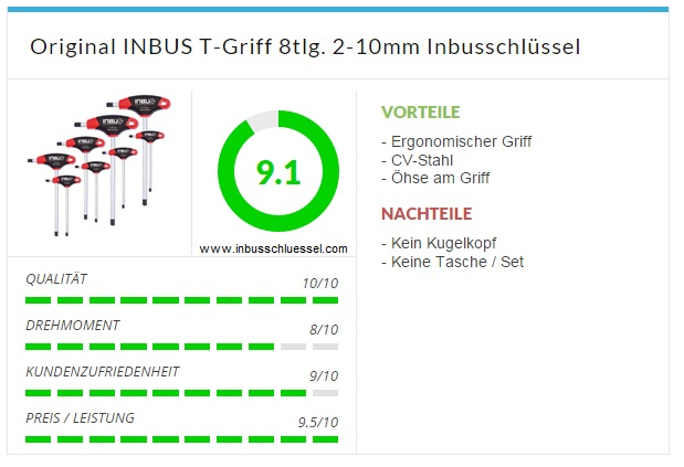 INBUS T-griff 2