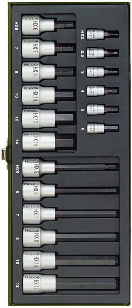 Inbus Steckschlüsselsatz von Proxxon