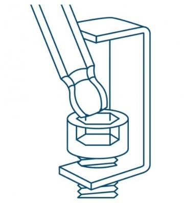 INBUS® 70266 Inbusschlüssel Satz Farbcodiert mit Kugelkopf Metrisch 9tlg. 1,5-10mm | Made in Germany | Innensechskantschlüssel | Winkelschlüssel | 1,5mm | 2mm | 2,5mm | 3mm | 4mm | 5mm | 6mm | 8mm | 10mm | bunt | farbig - 5