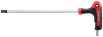 KS Tools 151.8150 Ergotorqueplus T-Griff-Kugelkopf-Innensechskant-Winkelstiftschlüssel-Satz, 9-teilig, 2-12 mm - 2