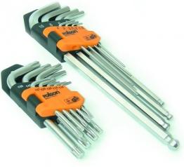 Rolson Tools 40389 Inbus-Schlüsselsatz in Halter, 18-teilig - 1